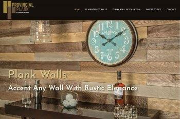 Kitchener Web Design - Provincial Plank