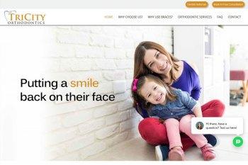 Kitchener Waterloo Website Design - TriCity Orthodontics