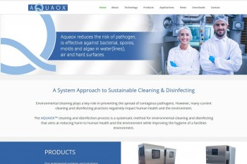 Kitchener Waterloo Website Design - Aquaox
