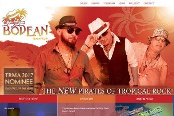Kitchener Waterloo Website Design - Bodean Music