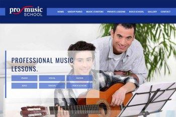 Kitchener Waterloo Website Design - Pro Music