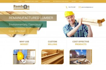 Kitchener Waterloo Website Design - Rembos Lumber