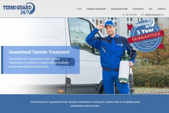 Kitchener Waterloo Website Design - Termiguard 247