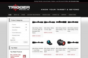 Kitchener Waterloo Website Design - Trigger Wholesale