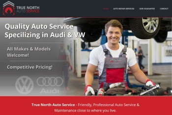 Kitchener Waterloo Website Design - True North Automotive